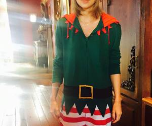 blonde, christmas, and pretty image