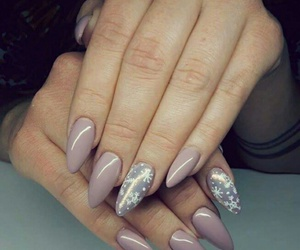 nails, cool, and snow image
