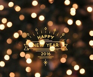 2016, happy, and year image