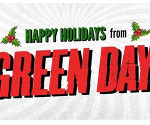 christmas and green day image