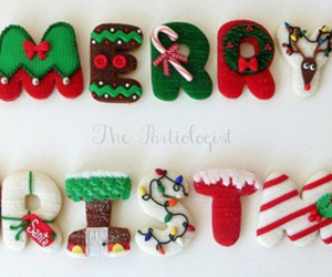 Cookies, merry christmas, and sweets image