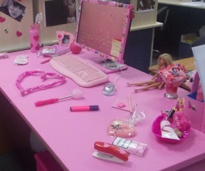 barbie, pale, and pink image