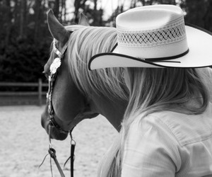blondes, Cowgirl, and hat image