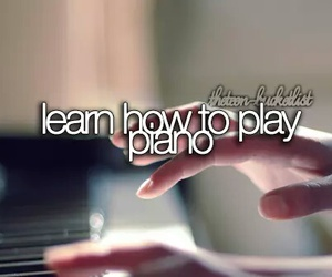 piano, music, and learn image
