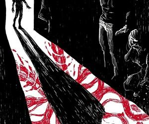 sad, tokyo ghoul, and art image