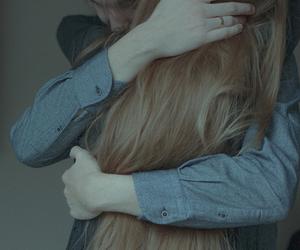 hug and couple image