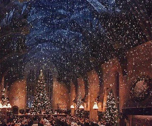 december, christmas, and snow image