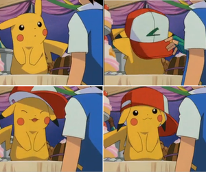 pikachu, pokemon, and ash image