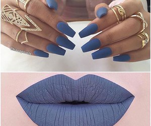 blue, matt, and nails image