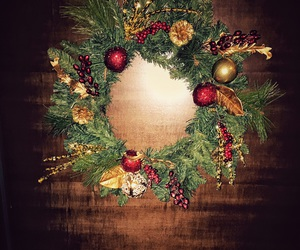 christmas, merry, and decoration image