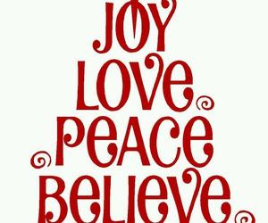 christmas, believe, and joy image