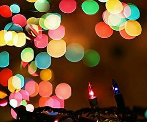 light, christmas, and colorful image