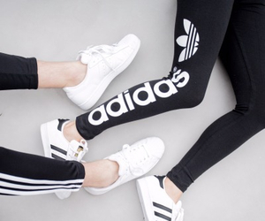 adidas, beautiful, and girl image