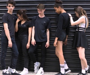 black, fashion, and indie image