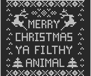 christmas, guerilla cross stitch, and spn image