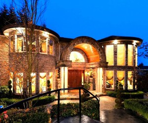 architecture, lights, and luxury image