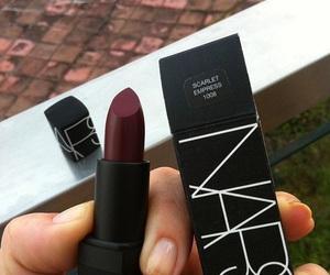 lipstick, nars, and makeup image
