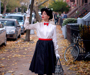Mary Poppins, costume, and Halloween image