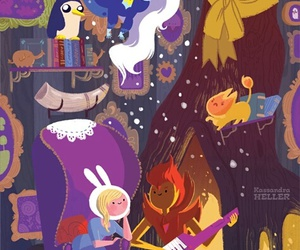 adventure time, ice queen, and fionna image