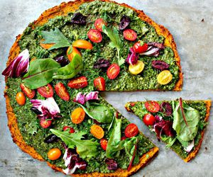 pizza, food, and healthy image