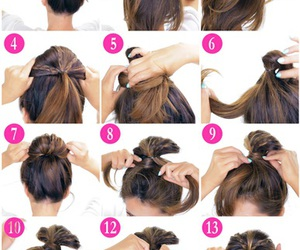 hairstyle, beauty, and braids image