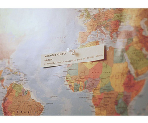 map and wanderlust image