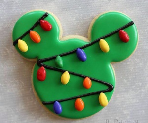 christmas, mickey, and cookie image