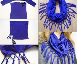 diy, Easy, and scarf image