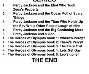 funny, titles, and percy jackson image