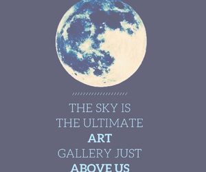 art, astronomy, and blue image