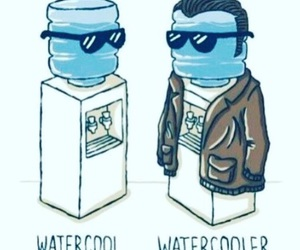 funny, water, and cool image