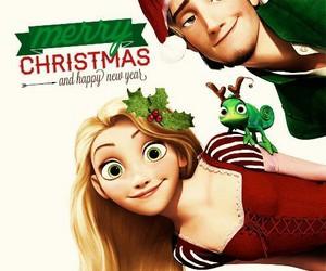 disney, merry christmas, and tangled image