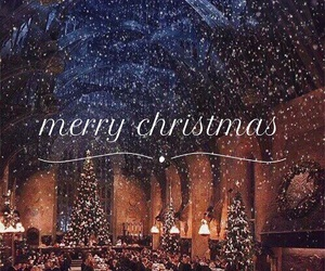 christmas, harry potter, and harrypotter image