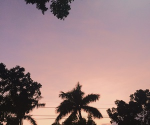 cool, sunset, and pink image
