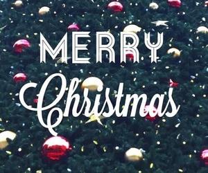 merry christmas, christmas, and holiday image