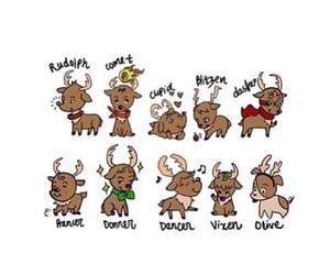 christmas, reindeer, and tumblr image