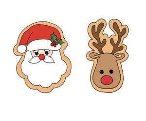 christmas, merry christmas, and reindeer image