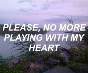 broke, heart, and play image