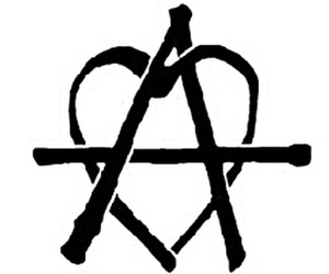 anarchy, background, and black image