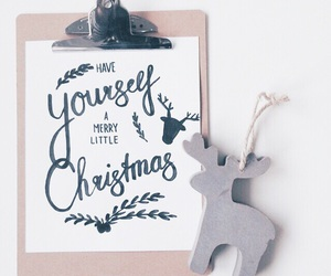 christmas, handlettering, and ink image