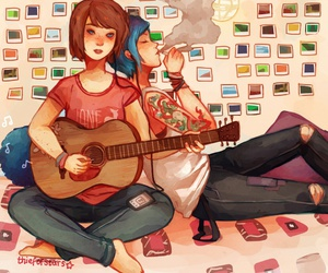 lis, chloe price, and max caulfield image