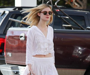 actress, Elle Fanning, and fanning image