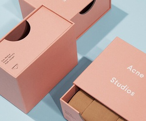 acne studios, pink, and aesthetic image