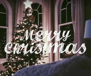 merry christmas, tree, and december image