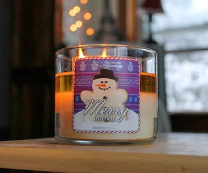 candle, christmas, and holiday image