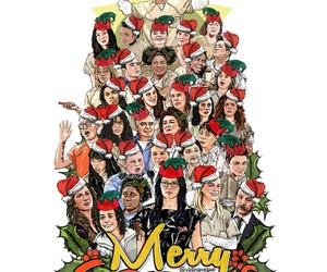 mery christmas, orange is the new black, and show tv image