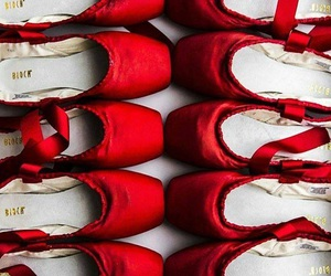 dance, red, and shoes image