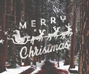 christmas, winter, and christmas eve image