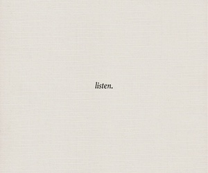listen, quote, and quotes image