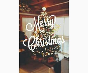 christmas, merry, and tree image